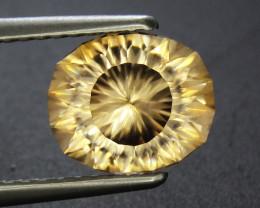 3.27 ct Yellow Zircon Oval Shape