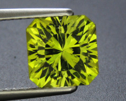 2.65 ct Apatite Yellowish Green Square Shape