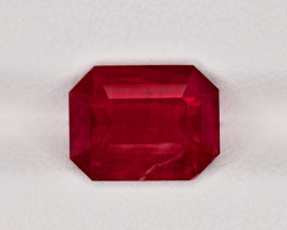 Ruby, 4.26ct - Mined in Tanzania | Certified by GRS