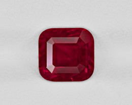 Ruby, 2.12ct - Mined in Tanzania | Certified by GRS