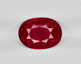 Ruby, 2.31ct - Mined in Tanzania | Certified by GRS