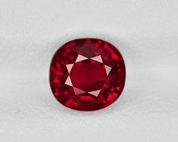 Ruby, 2.16ct - Mined in Mozambique | Certified by GRS