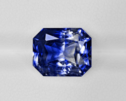 Fancy Sapphire, 6.65ct - Mined in Kashmir | Certified by GIA, GRS & IGI