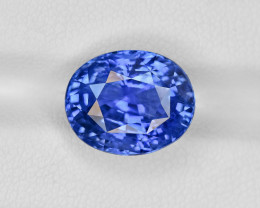 Blue Sapphire, 10.63ct - Mined in Sri Lanka | Certified by GRS