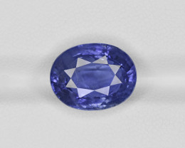Blue Sapphire, 8.61ct - Mined in Sri Lanka | Certified by GIA