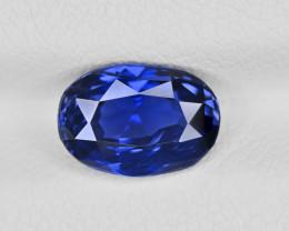 Blue Sapphire, 2.51ct - Mined in Sri Lanka   Certified by GRS