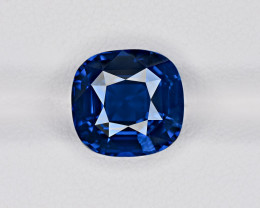 Blue Sapphire, 6.43ct - Mined in Madagascar | Certified by GRS