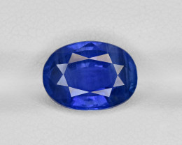 Blue Sapphire, 5.57ct - Mined in Sri Lanka | Certified by GIA