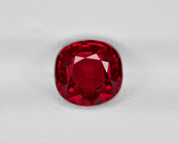 Ruby, 2.04ct - Mined in Mozambique | Certified by GRS