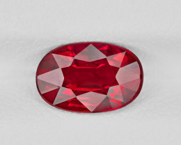 Ruby, 2.02ct - Mined in Mozambique | Certified by GRS