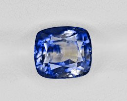 Blue Sapphire, 3.59ct - Mined in Kashmir | Certified by GRS