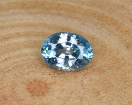 Natural Blue Zircon 1.74 Cts Top Luster Gemstone