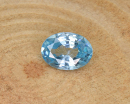 Natural Blue Zircon 1.85 Cts Top Luster Gemstone