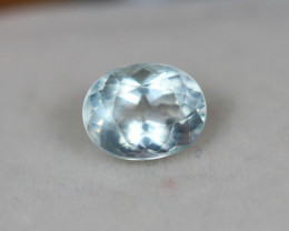 1.12Ct Blue Aquamarine Oval Cut Lot LZ2716