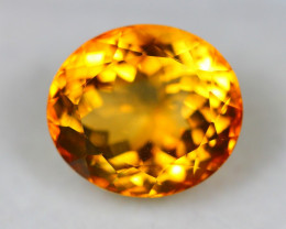 6.64Ct Yellow Citrine Oval Cut Lot LZ2720