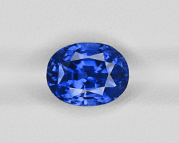 Blue Sapphire, 5.23ct - Mined in Kashmir | Certified by GIA