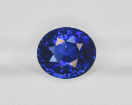 Blue Sapphire, 5.76ct - Mined in Kashmir | Certified by GIA