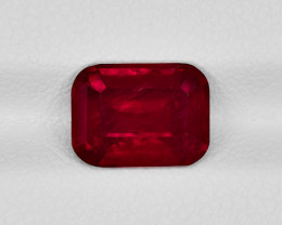 Ruby, 3.38ct - Mined in Tanzania | Certified by GRS