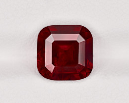 Ruby, 3.25ct - Mined in Tanzania | Certified by GRS