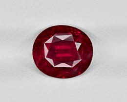 Ruby, 2.40ct - Mined in Tanzania | Certified by GRS