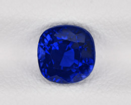 Blue Sapphire, 1.52ct - Mined in Madagascar | Certified by GRS