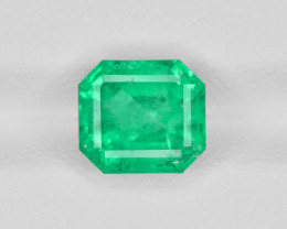 Emerald, 3.17ct - Mined in Colombia | Certified by GRS