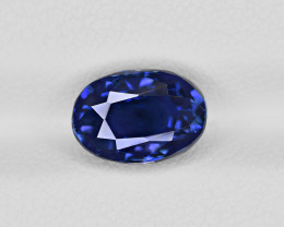 Blue Sapphire, 3.28ct - Mined in Madagascar | Certified by GRS