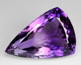28.43 Ct  Natural Amethyst Top Quality Gemstone. AT 01