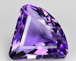 5.29 Ct  Natural Amethyst Top Quality Gemstone. AT 15
