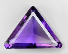 13.00 Ct  Natural Amethyst Top Quality Gemstone. AT 18