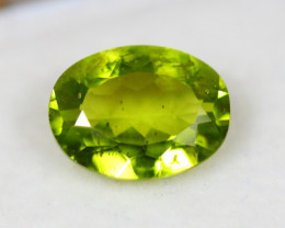 3.24Ct Natural Green Peridot Oval Cut Lot B646