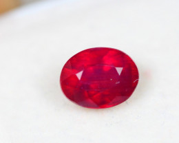 1.92Ct Blood Red Color Ruby Oval Cut Lot E15