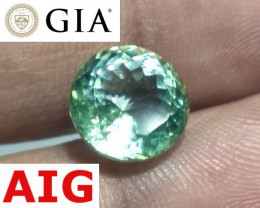 "Loupe-Clean! GIA & AIG Unheated NEON ""Paraíba Color"" Tourmaline"