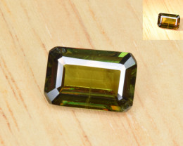 Natural Color Changing Chrome Sphene 2.27 Cts from Skardu, Pakistan