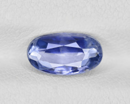 Blue Sapphire, 2.29ct - Mined in Kashmir | Certified by GIA