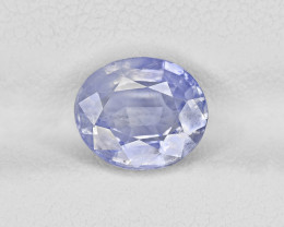 Blue Sapphire, 2.87ct - Mined in Kashmir | Certified by GRS