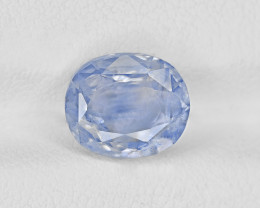 Blue Sapphire, 3.66ct - Mined in Kashmir | Certified by GRS