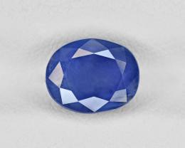 Blue Sapphire, 2.82ct - Mined in Kashmir | Certified by GRS