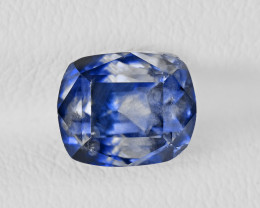 Blue Sapphire, 3.52ct - Mined in Kashmir | Certified by GRS