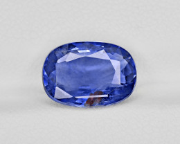 Blue Sapphire, 4.92ct - Mined in Kashmir | Certified by GIA