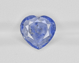 Blue Sapphire, 4.52ct - Mined in Kashmir | Certified by GIA & IGI