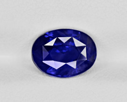 Blue Sapphire, 2.58ct - Mined in Sri Lanka   Certified by GRS