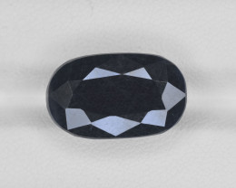 Blue Sapphire, 15.30ct - Mined in India | Certified by AIGS