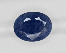 Blue Sapphire, 15.85ct - Mined in India | Certified by AIGS