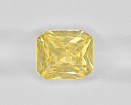 Yellow Sapphire, 3.56ct - Mined in Sri Lanka | Certified by IGI