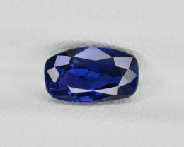 Blue Sapphire, 1.54ct - Mined in Madagascar | Certified by IGI
