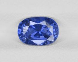 Blue Sapphire, 1.70ct - Mined in Sri Lanka | Certified by GRS