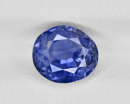 Blue Sapphire, 2.16ct - Mined in Burma | Certified by GRS