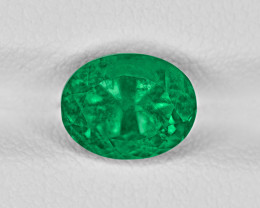 Emerald, 2.12ct - Mined in Colombia | Certified by GRS
