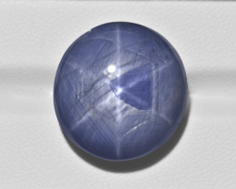 Blue Star Sapphire, 49.28ct - Mined in Burma | Certified by GII